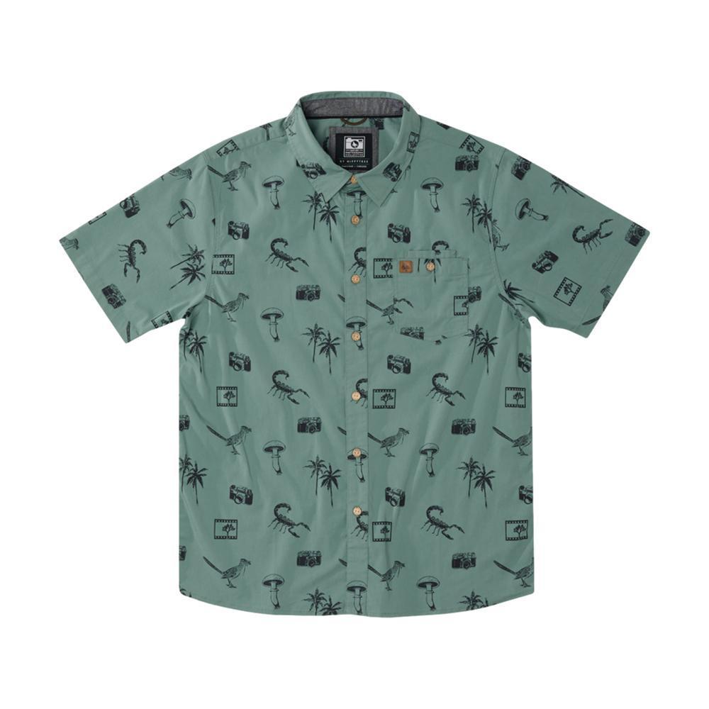 HippyTree Men's Palms Woven Shirt MINT