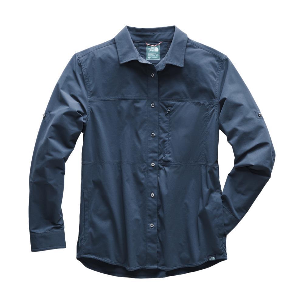 The North Face Women's Long Sleeve Boreaz Shirt TEAL_N4L