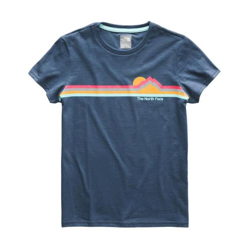 The North Face Girls Short Sleeve Graphic Tee Teal_n4l