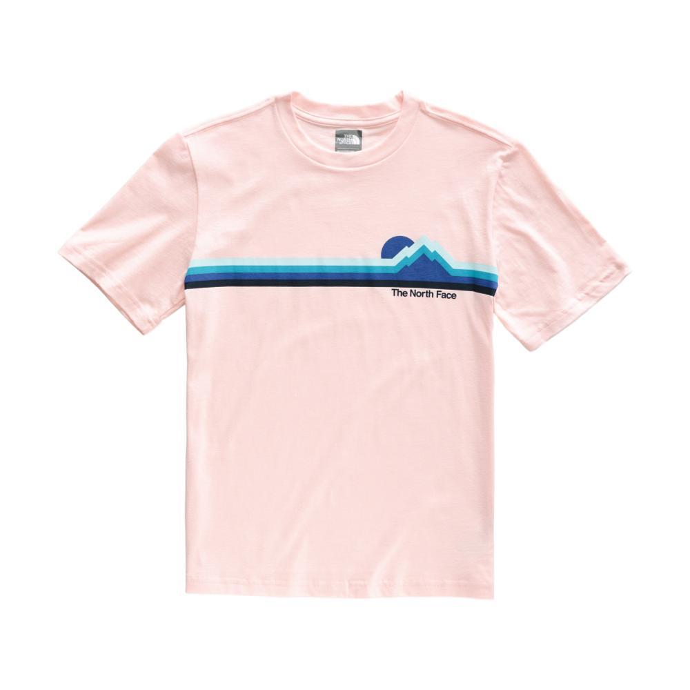 The North Face Boys Short Sleeve Graphic Tee PINKSLT_8ED