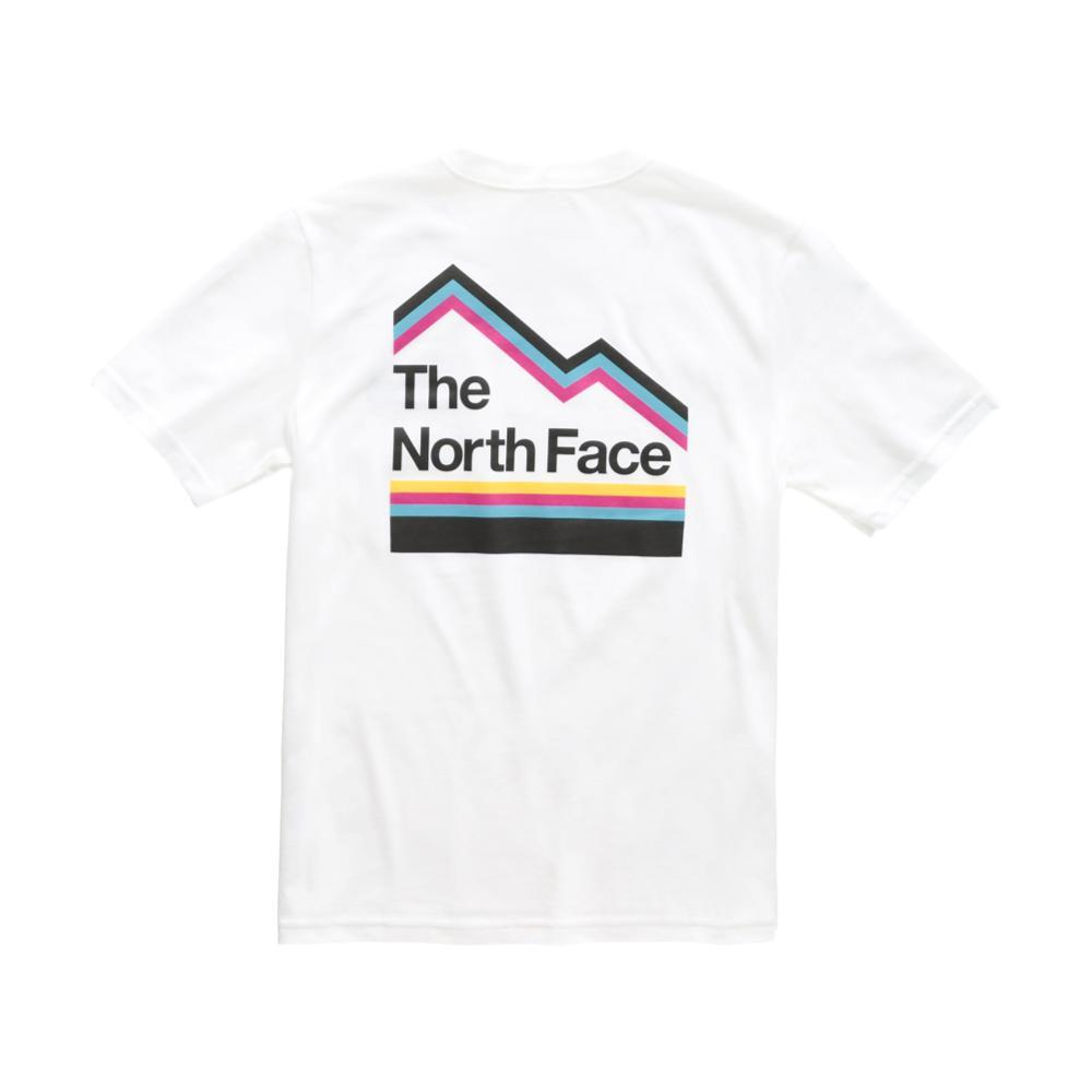 The North Face Boys Short Sleeve Graphic Tee WHITE_VKV