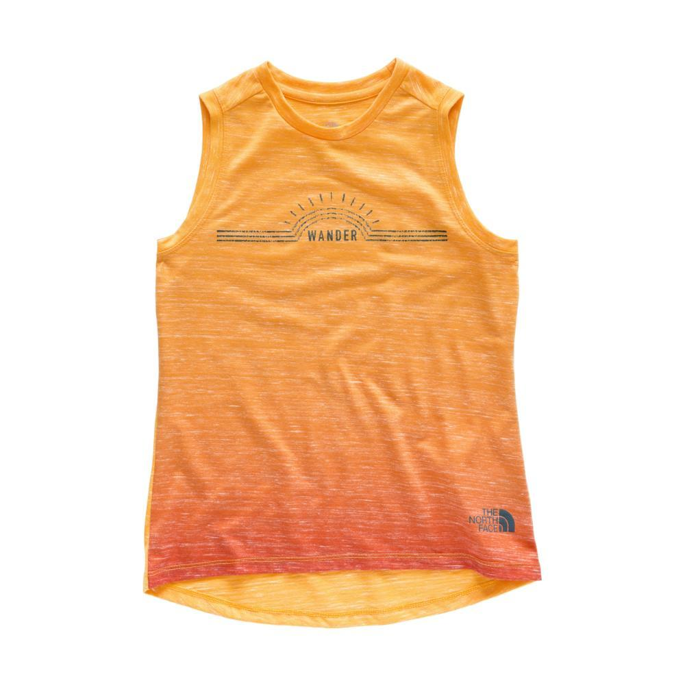 The North Face Girls Long and Short of It Tank PNKOMB_9KN