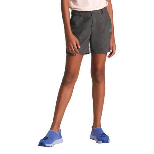 The North Face Girls Amphibious Shorts Grey044