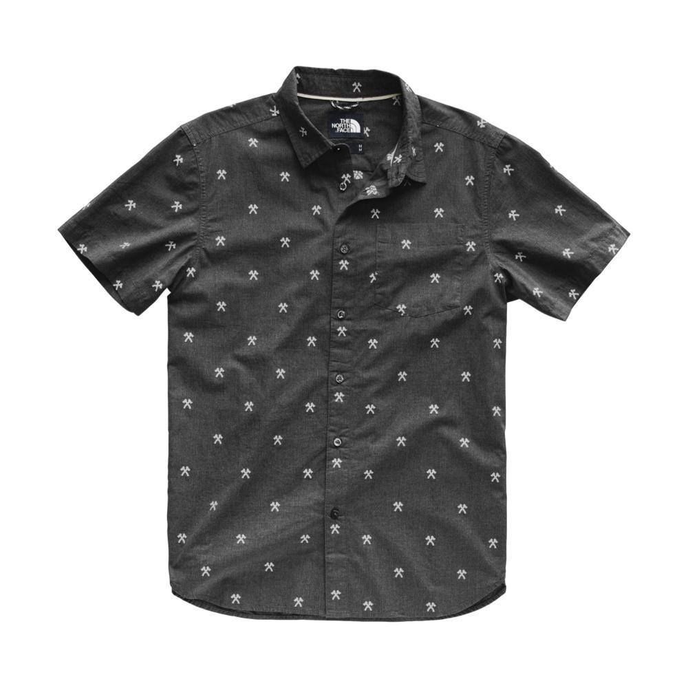 The North Face Men's Short Sleeve Bay Trail Jacquard Shirt 9SS_HBLK