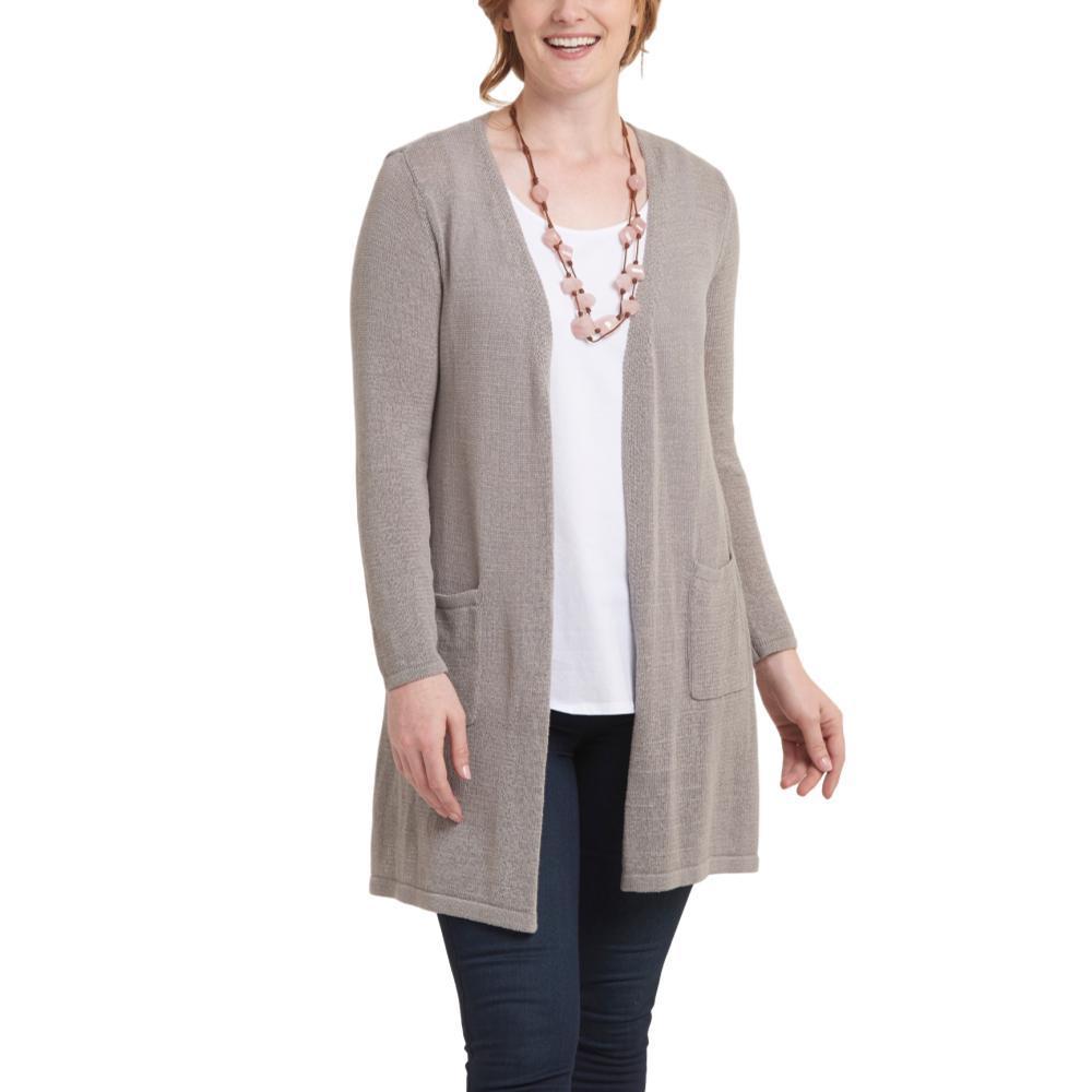 Habitat Clothing Women's Easy Pocket Sweater Cardigan SAND