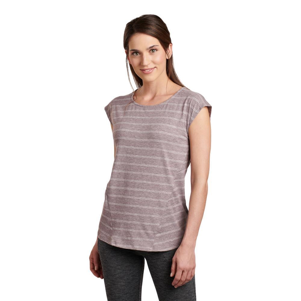 KUHL Women's Laurel Short Sleeve Shirt QUARTZ