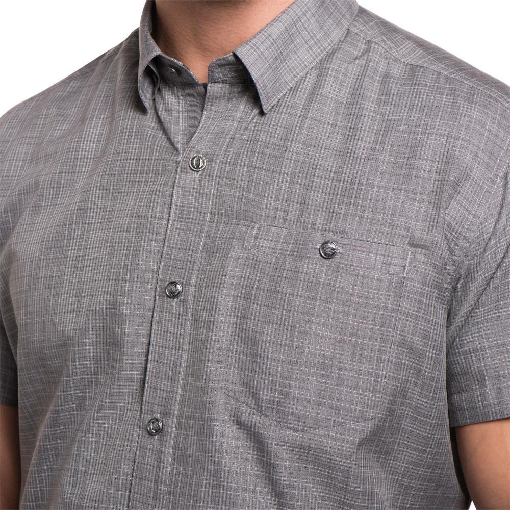 KUHL Men's Krossfire Short Sleeve Shirt IRON
