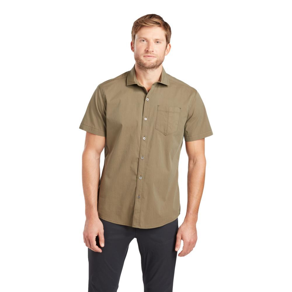 KUHL Men's Rejectr Short Sleeve Shirt DKMOSS