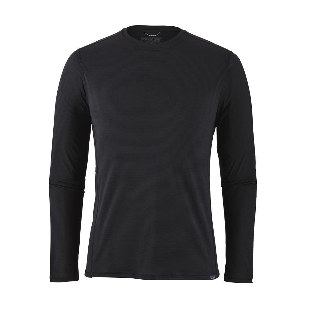 Patagonia Men's Long Sleeved Capilene Cool Lightweight Shirt BLK
