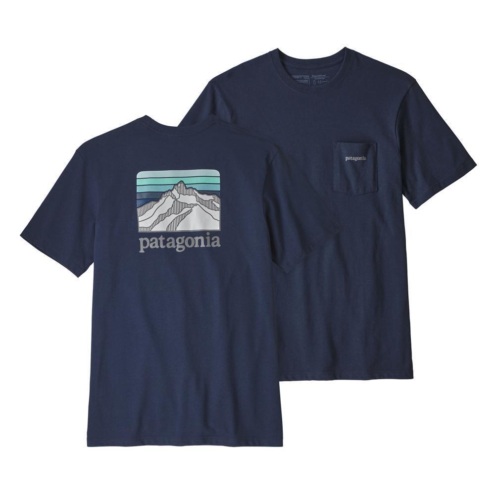 Patagonia Men's Line Logo Ridge Pocket Responsibili-Tee CNY