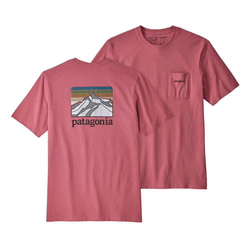 Patagonia Men's Line Logo Ridge Pocket Responsibili-Tee SRPK