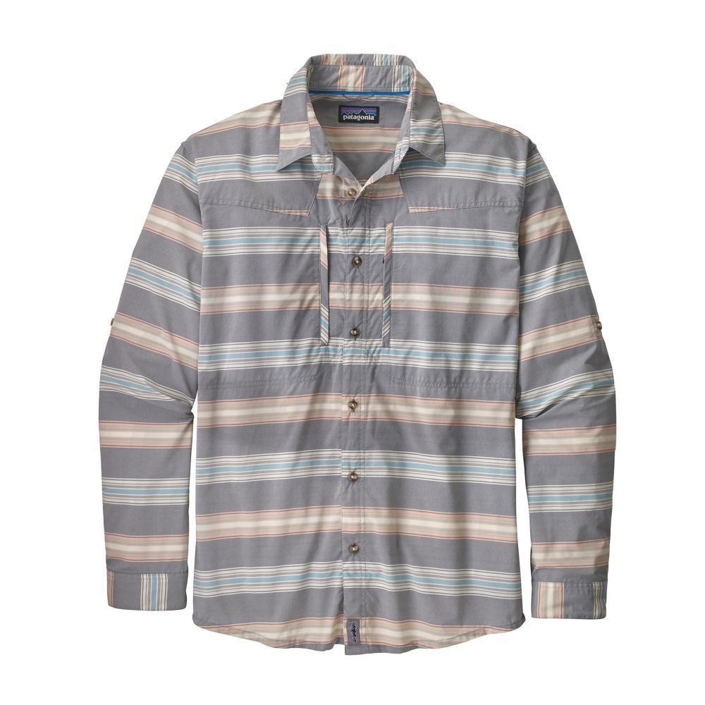 Patagonia Men's Long Sleeved Sun Stretch Shirt TSDB_DBLU