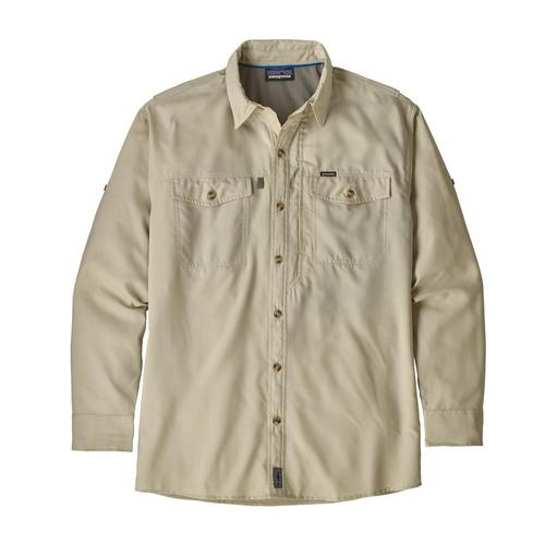 Patagonia Men's Long Sleeved Sol Patrol II Shirt Plcn_peli