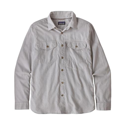 Patagonia Men's Long Sleeved Cayo Largo II Shirt Chfg_fgry