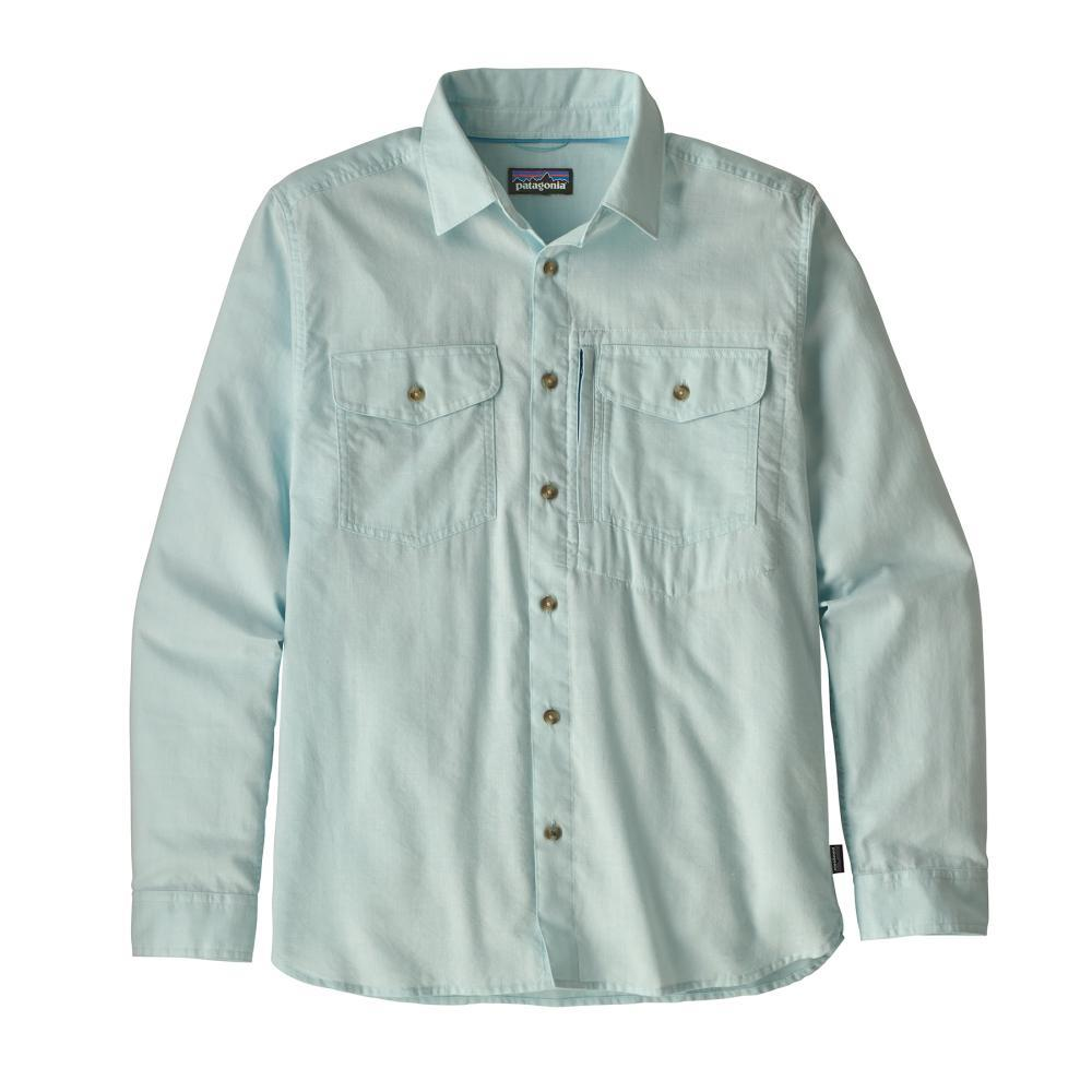 Patagonia Men's Long Sleeved Cayo Largo II Shirt CYBU_BLUE