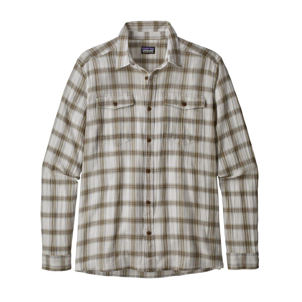 Patagonia Men's Long Sleeved Steersman Shirt BOEC_KHKI