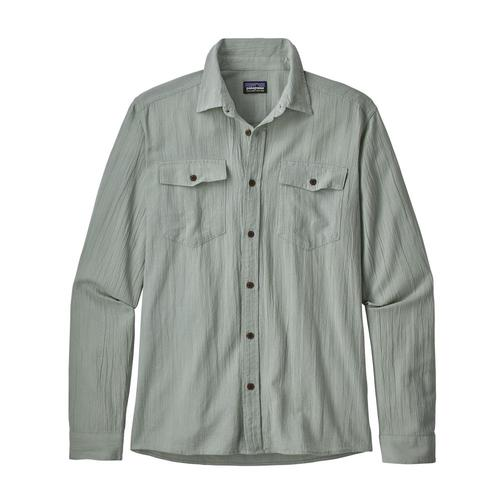 Patagonia Men's Long Sleeved Steersman Shirt Wwce_ltgrn