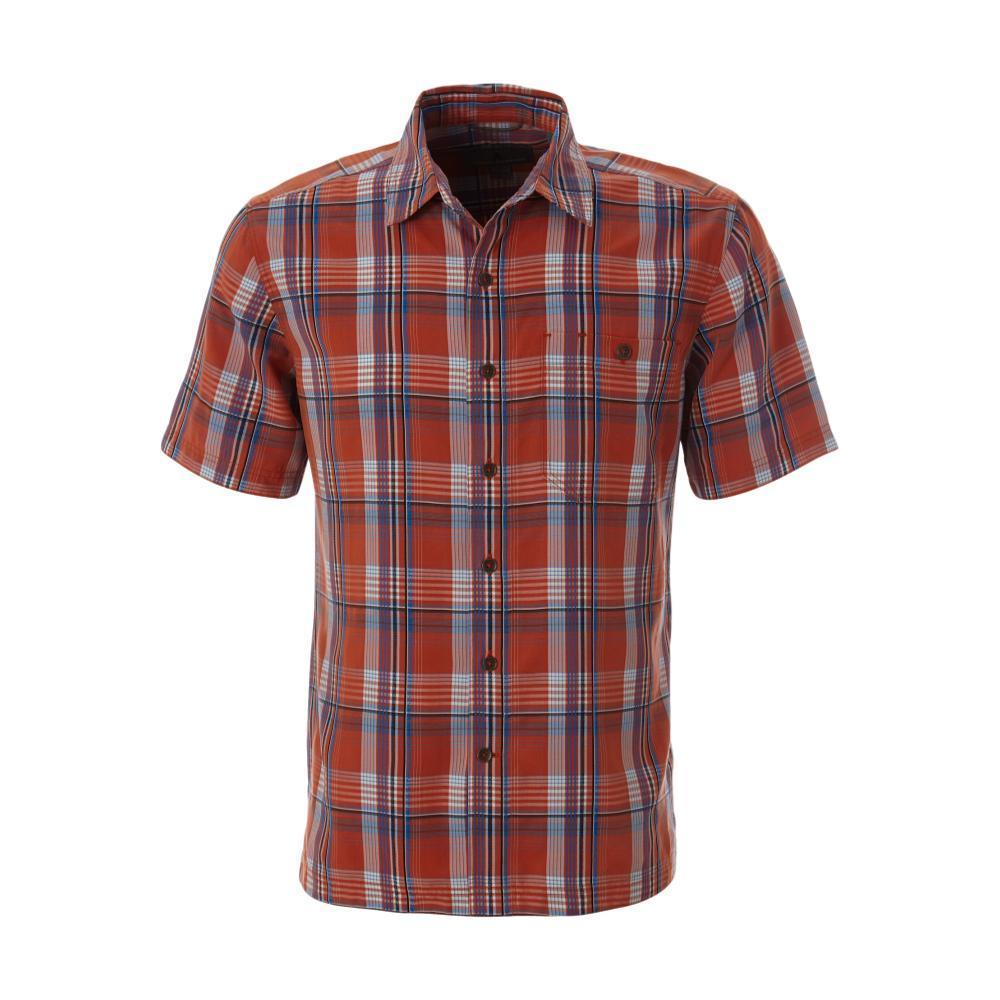 Royal Robbins Men's Mojave Pucker Dobby Plaid Short Sleeve Shirt ROORED