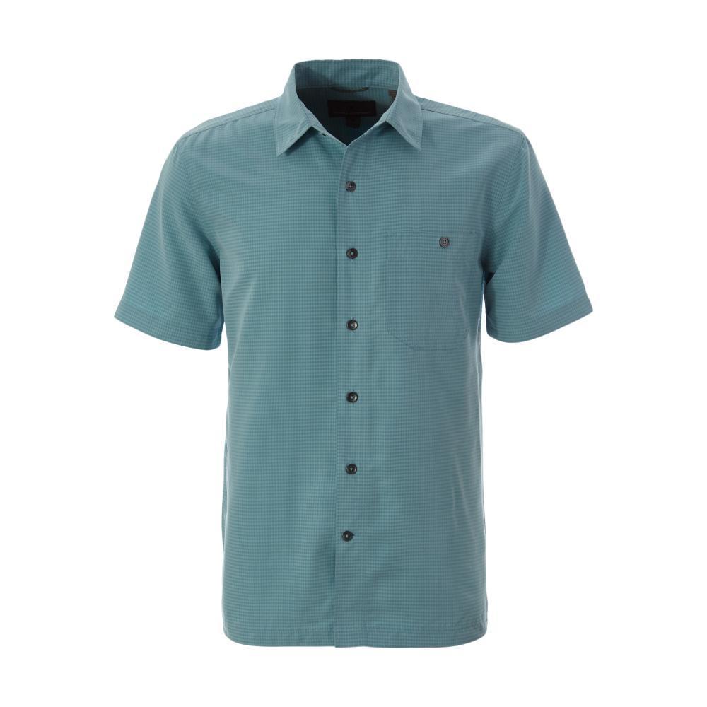 Royal Robbins Men's Mojave Pucker Dry Short Sleeve Shirt MILKYBLUE