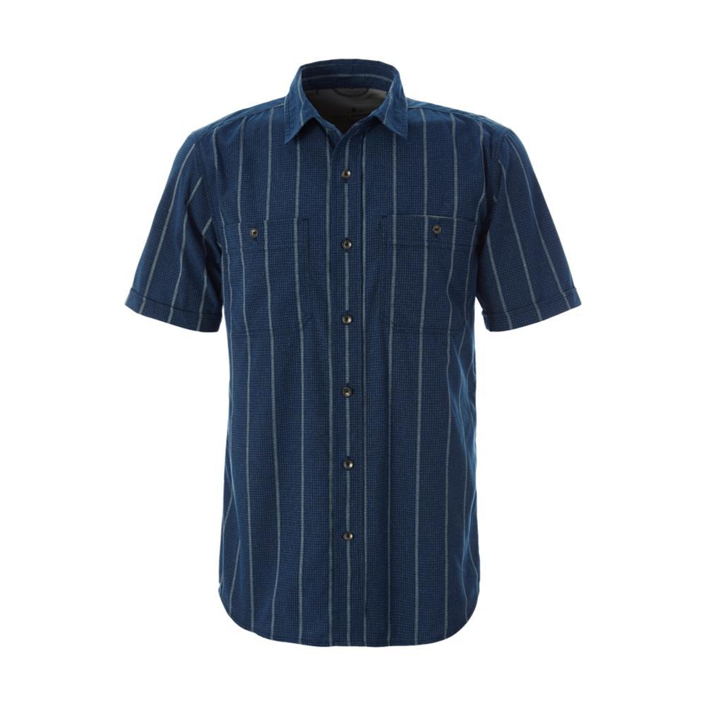 Royal Robbins Men's Vista Dry Short Sleeve Shirt TWILBLUE