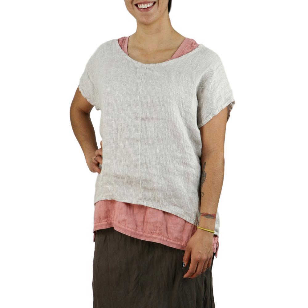 FLAX Women's Whisper Pullover ALMNDPANAMA
