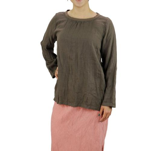FLAX Women's Basecamp Pullover Java