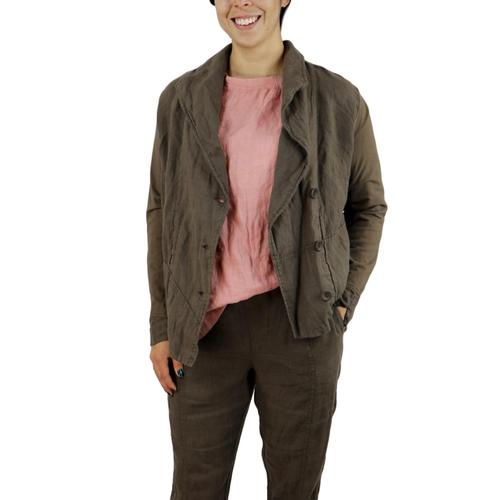 FLAX Women's Chelsea Jacket Java