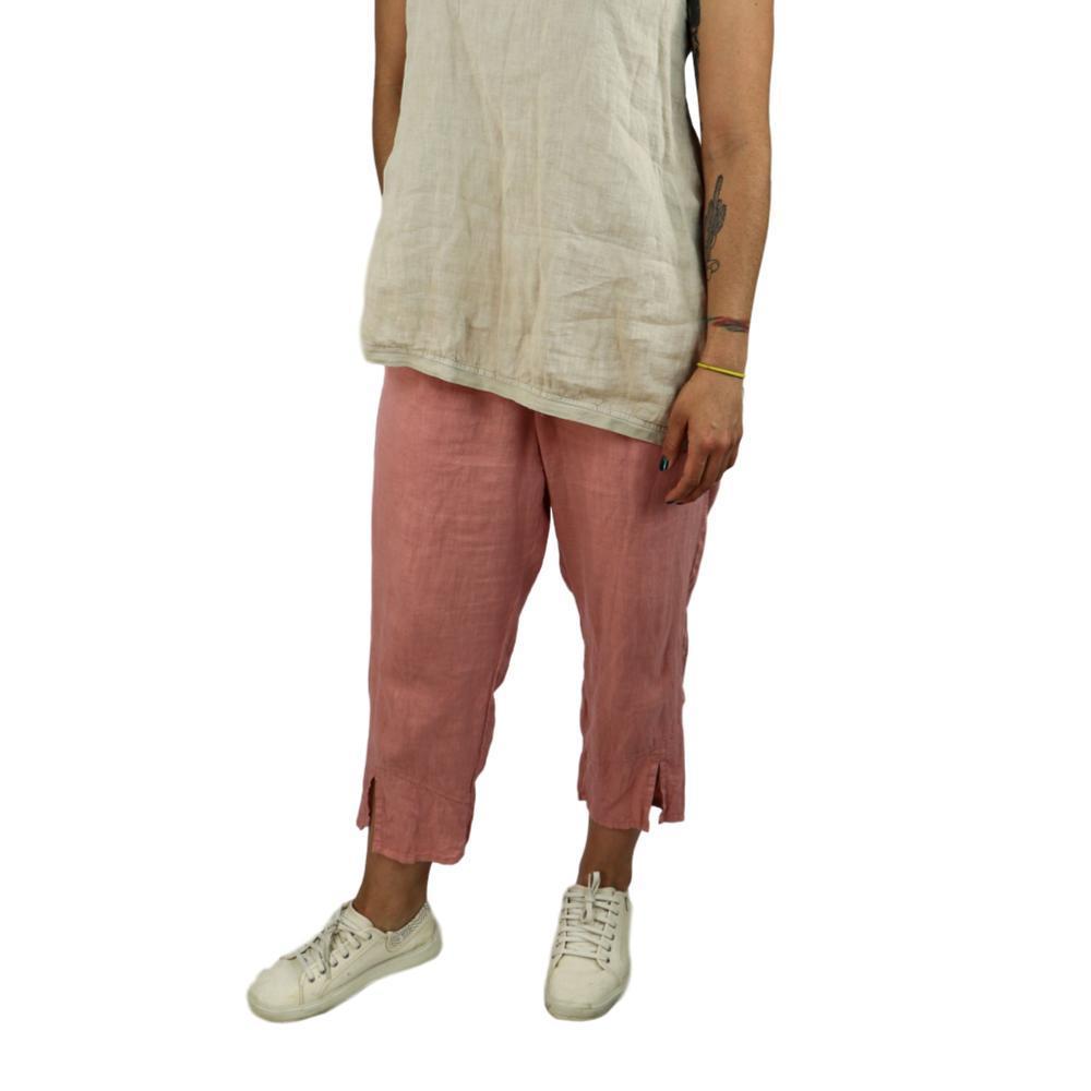 FLAX Women's Metro Crop Pants TEAROSE