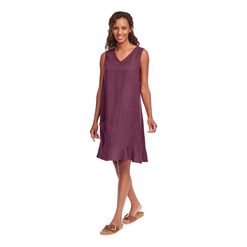 FLAX Women's Sweet Dreams Dress MAROON