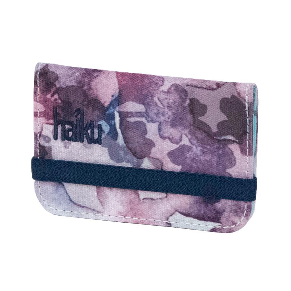 Haiku RFID Mini Wallet WLDFLWRPRT