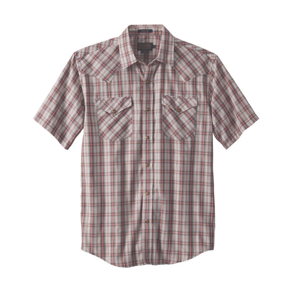 Pendleton Men's Frontier Short Sleeve Shirt RED65525