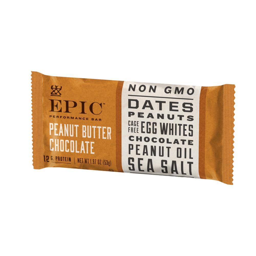 EPIC Performance Bar - Peanut Butter Chocolate PNT.BTR.CHOC