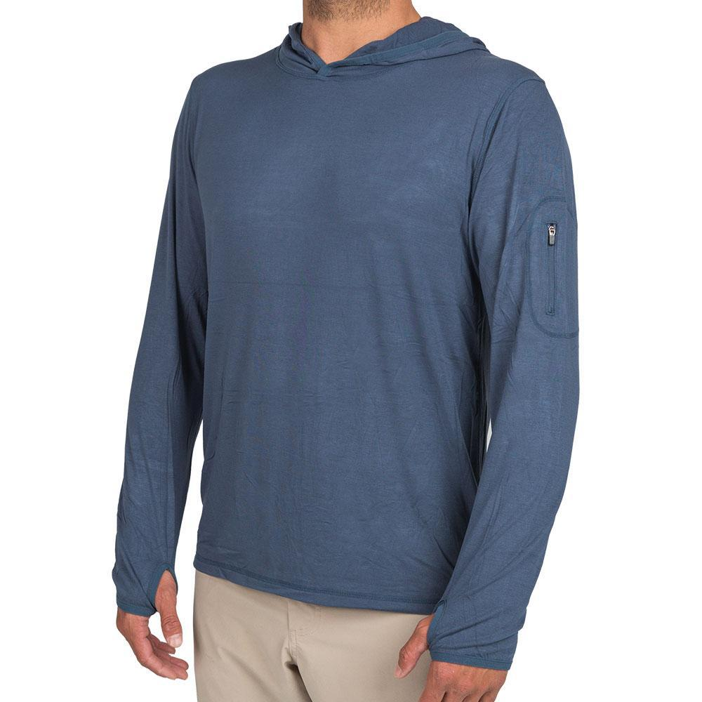 Free Fly Men's Bamboo Midweight Hoody NAVY105