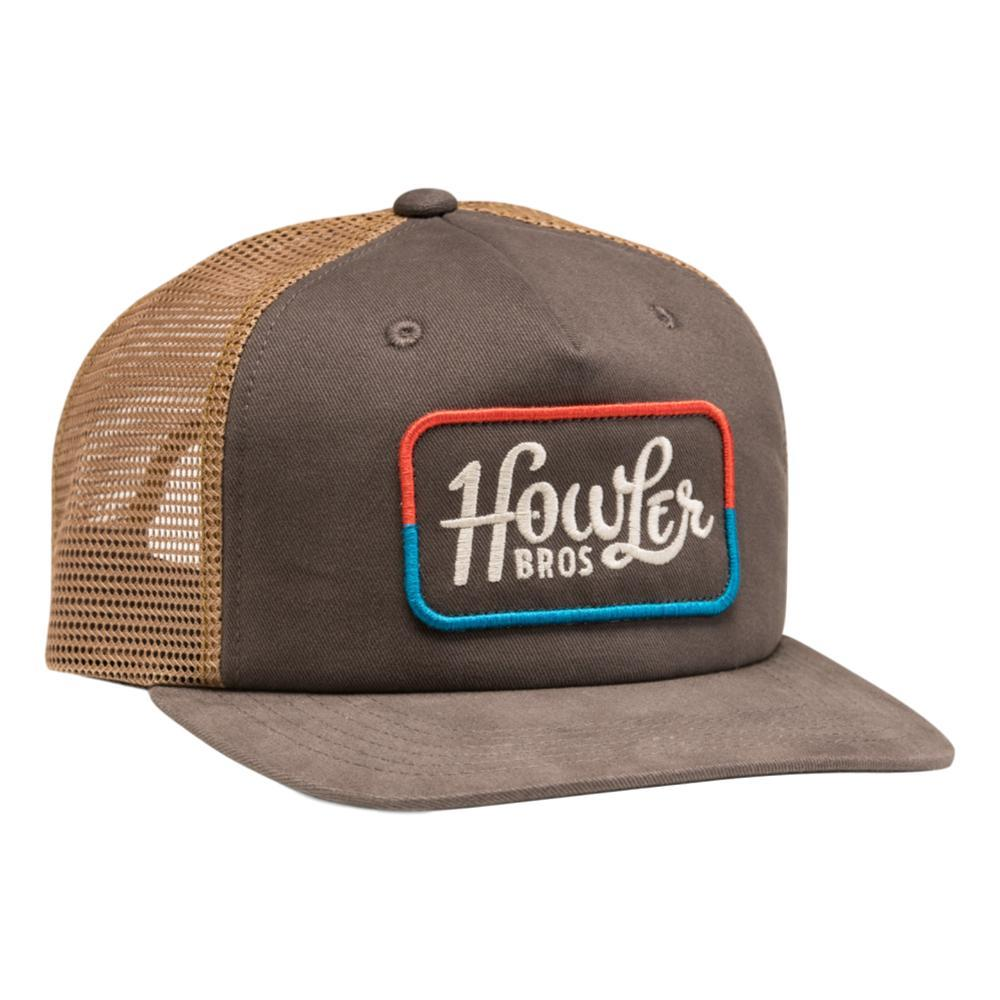 Howler Brothers Howler Classic Snapback Hat CHCREDBLUE