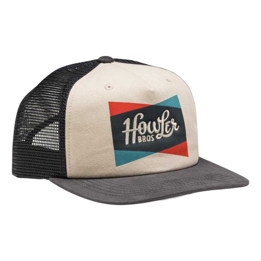 Howler Brothers Classic Shapes Snapback Hat OFFWHITNVY