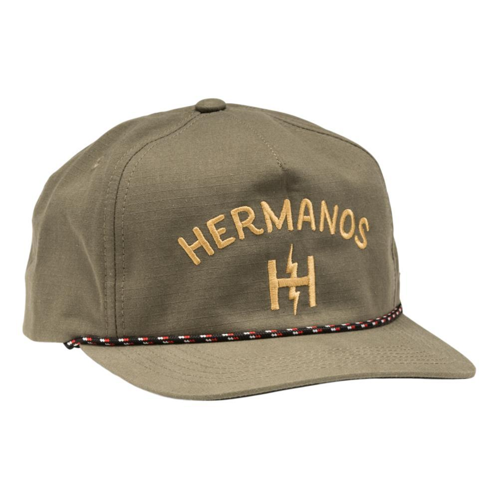 Howler Brothers Hermanos Unstructured Snapback Hat OLIVE