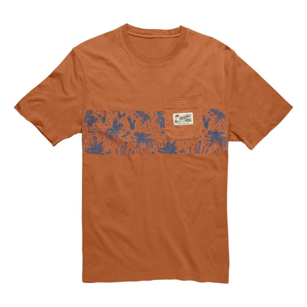Howler Brothers Men's Gallos Stripe Classic Pocket T-Shirt CLAYPOT