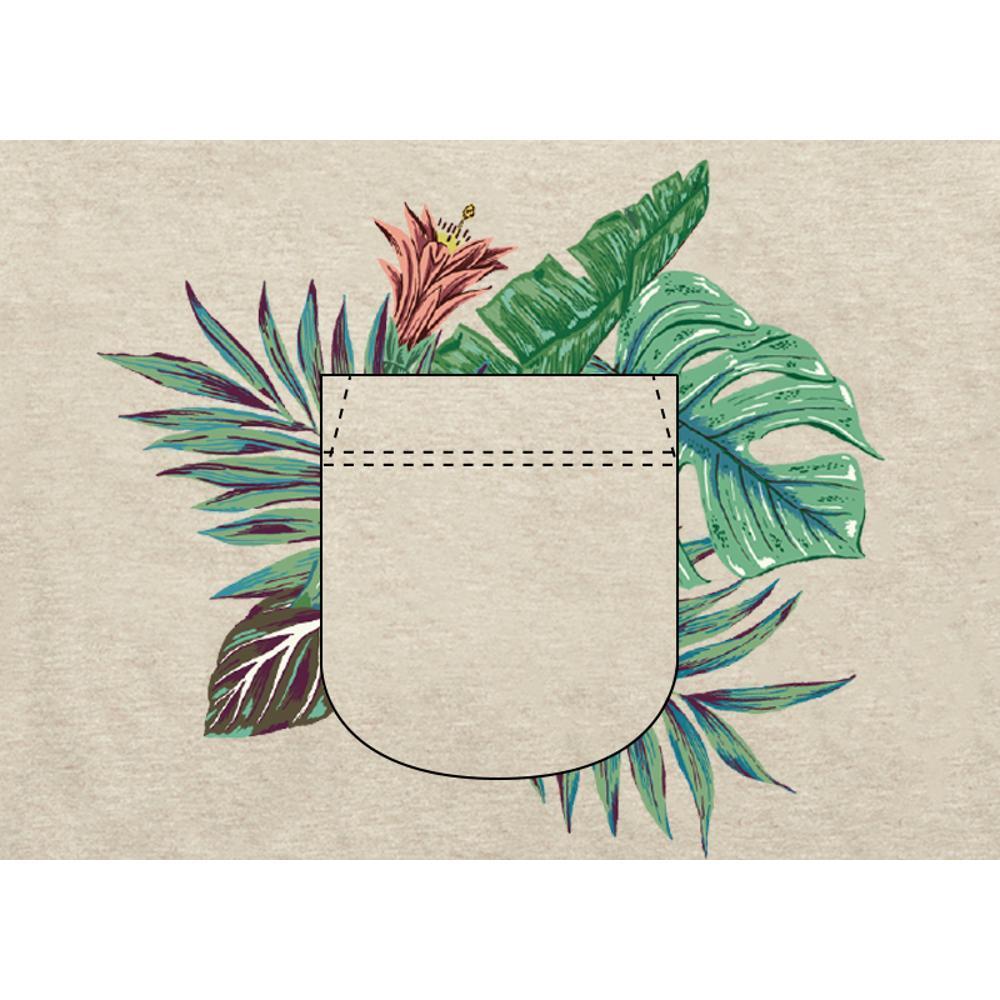 Howler Brothers Men's Palm Pocket Select Pocket T-Shirt SAND