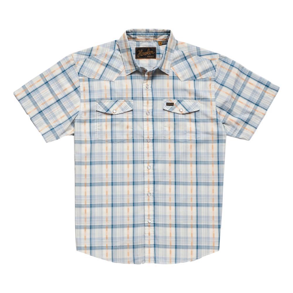 Howler Brothers Men's H Bar B Brooks Plaid Snapshirt CRBLUE