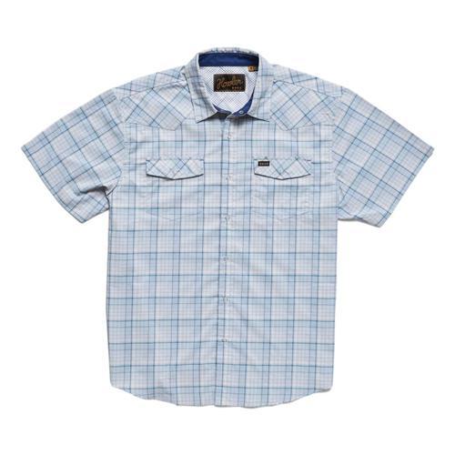Howler Brothers H Bar B Tech Short Sleeve Shirt Mystblue