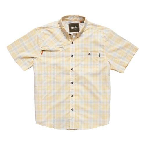 Howler Brothers Men's Matagorda Short Sleeve Shirt Sunyello