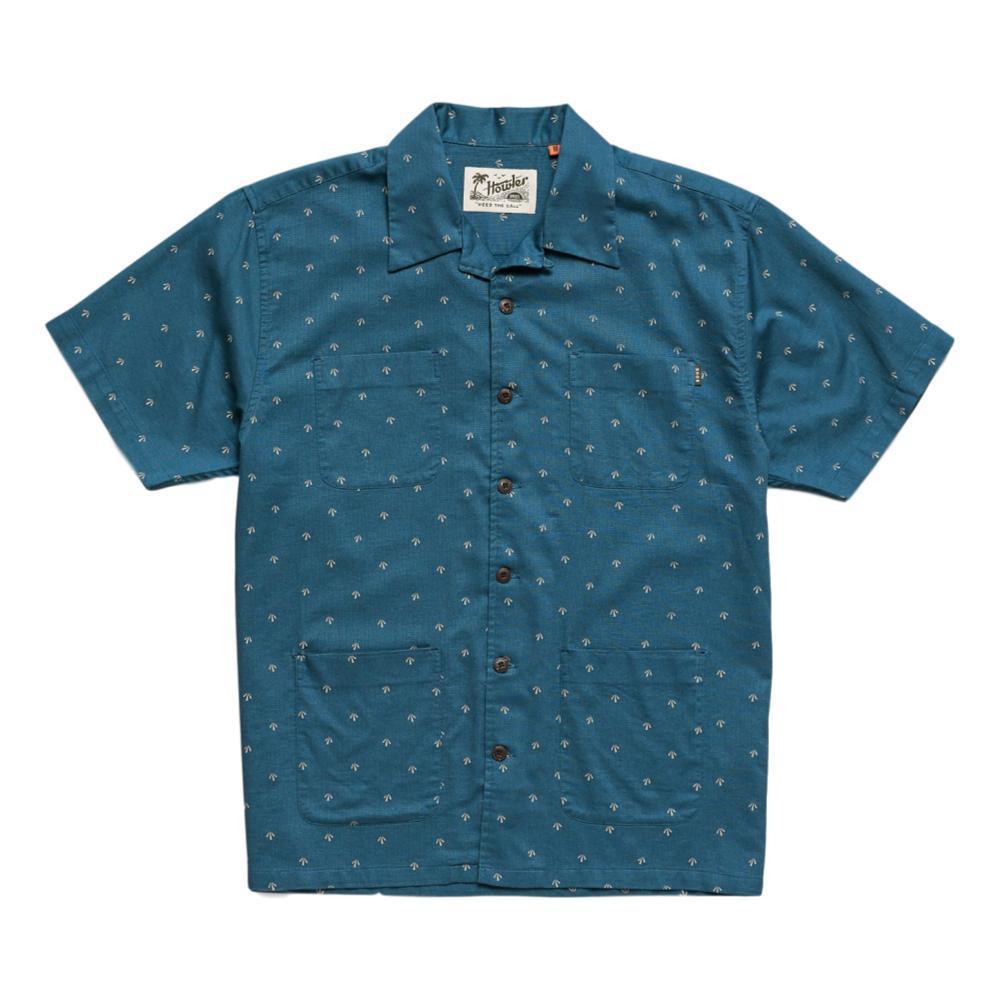 Howler Brothers Men's Sunset Scout Arrowhead Print Short Sleeve Shirt MIDBLUE