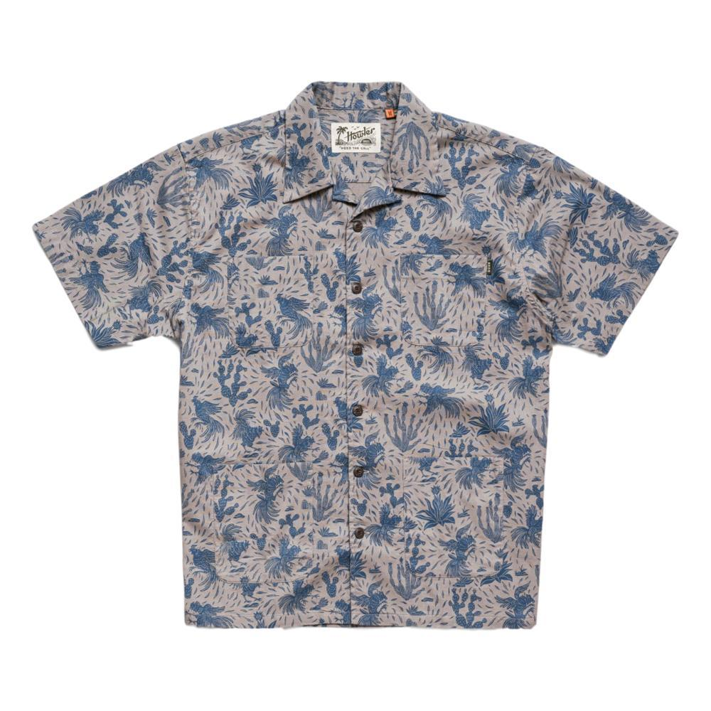 Howler Brothers Men's Sunset Scout Gallos Galore Short Sleeve Shirt WOLFGREY