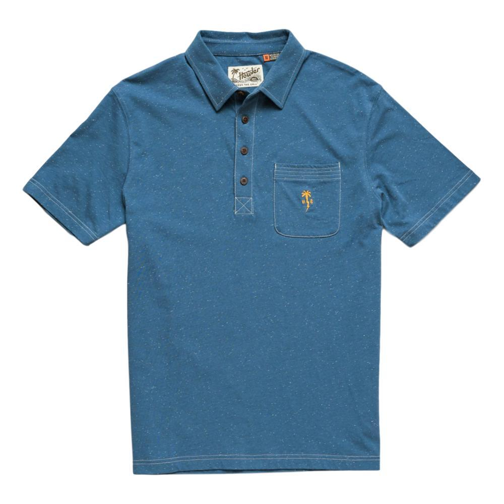 Howler Brothers Men's Clubman Polo MIDBLUE