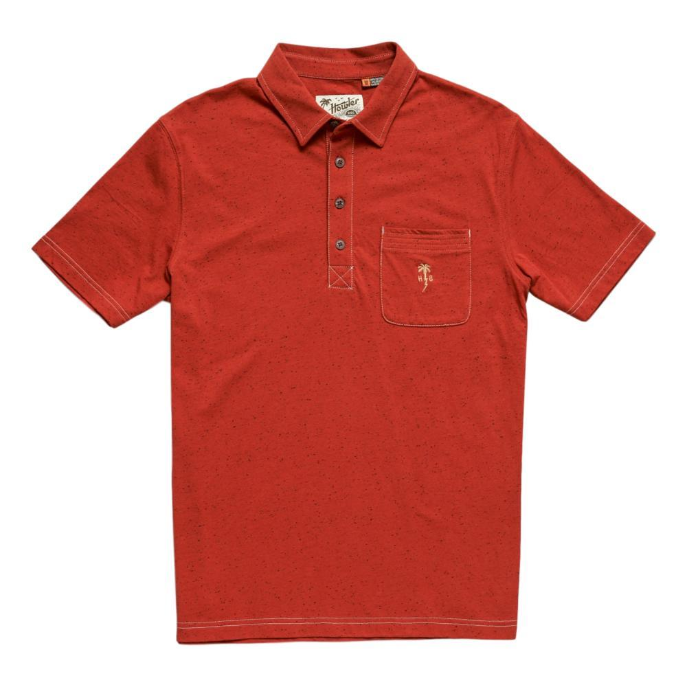 Howler Brothers Men's Clubman Polo TERRARED