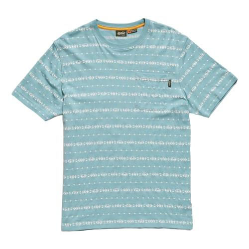 Howler Brothers Men's Portals Jacquard T-Shirt Seaspray