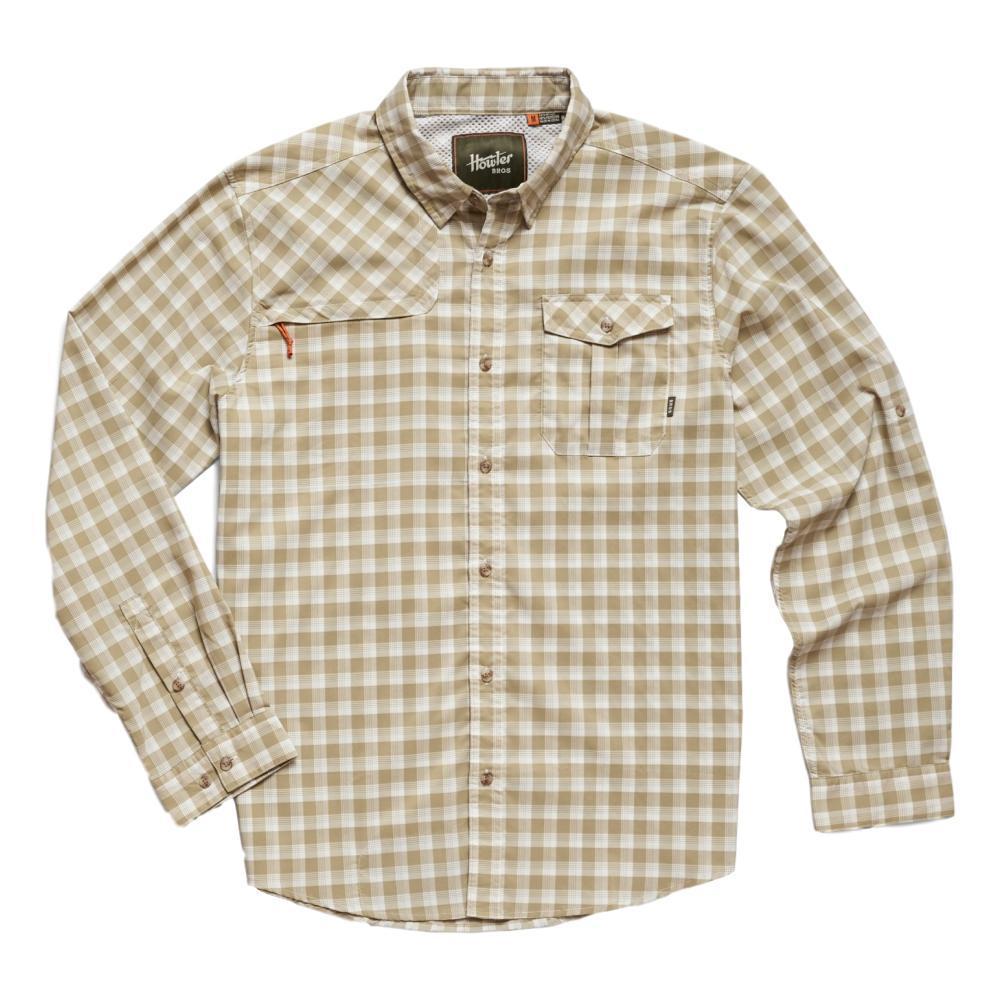 Howler Brothers Men's Matagorda Long Sleeve Shirt QGREEN