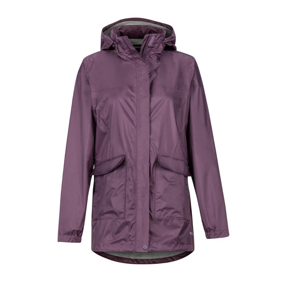Marmot Women's Ashbury PreCip Eco Jacket VINTAGEVIOLET7196