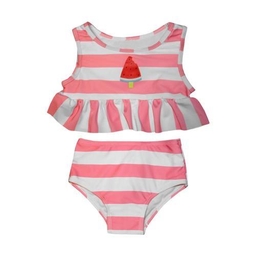 Mary Elyse Kids Miranda Watermelon Two Piece Swim Tankini Watermelon