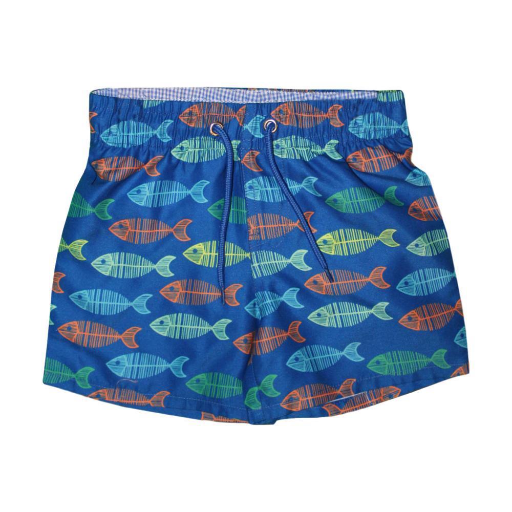 Mary Elyse Kids Gone Fishing Frank Swim Trunks BLUEMULTI